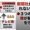 日刊新聞紙法の廃止法案を検討中 | 参議院議員 浜田聡のブログ